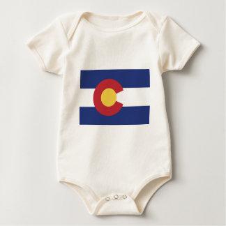 Vlag van Colorado Baby Shirt