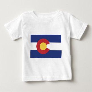 Vlag van Colorado Baby T Shirts