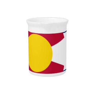 Vlag van Colorado Drink Pitcher
