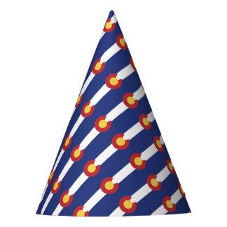 Vlag van Colorado Feesthoedjes