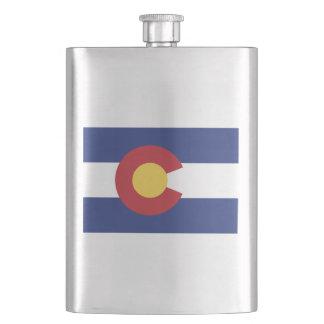 Vlag van Colorado Heupfles