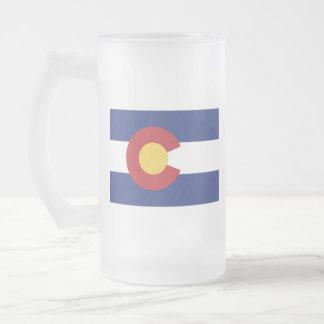 Vlag van Colorado Matglas Bierpul