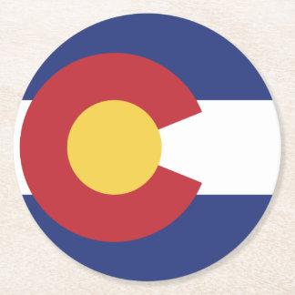 Vlag van Colorado Ronde Onderzetter