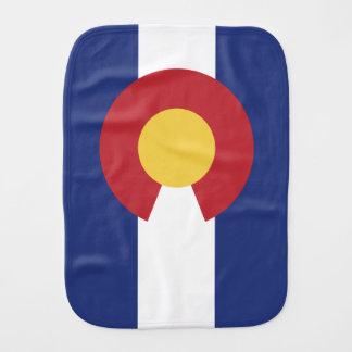 Vlag van Colorado Spuugdoekje