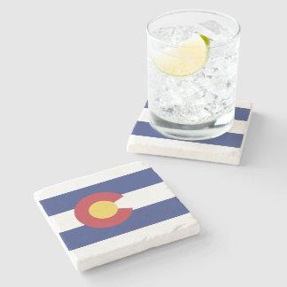 Vlag van Colorado Stenen Onderzetter