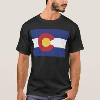 Vlag van Colorado T Shirt