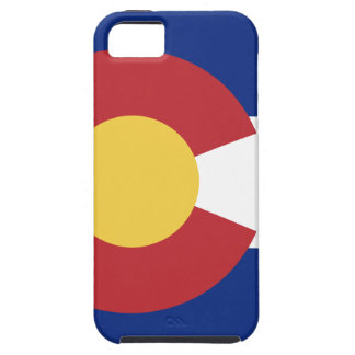Vlag van Colorado Tough iPhone 5 Hoesje