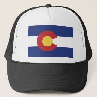 Vlag van Colorado Trucker Pet