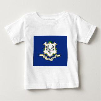Vlag van Connecticut Baby T Shirts