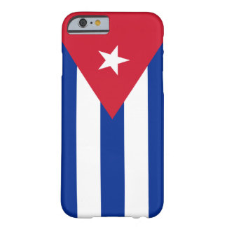 Vlag van Cuba Barely There iPhone 6 Hoesje