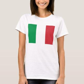 Vlag van de BasisT-shirt van de Vrouwen van Italië T Shirt