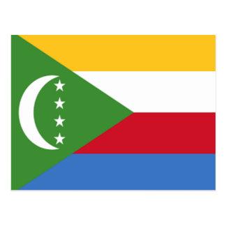 Vlag van de Comoren Briefkaart