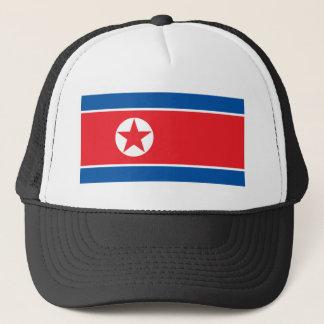Vlag van de Democratische Volksrepubliek van Korea Trucker Pet