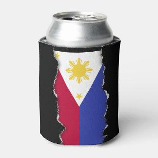 Vlag van de Filippijnen Blikjeskoeler