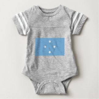 Vlag van de Gefederaliseerde Staten van Micronesië Baby Bodysuit