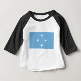 Vlag van de Gefederaliseerde Staten van Micronesië Baby T Shirts