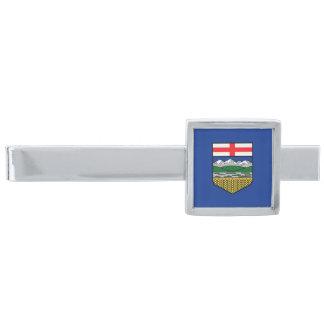 Vlag van de Klem van het Stropdas van Alberta Verzilverde Dasspeld