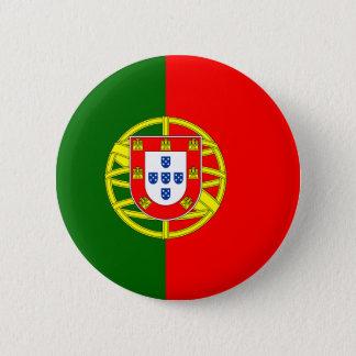 Vlag van de Knoop van Portugal Ronde Button 5,7 Cm