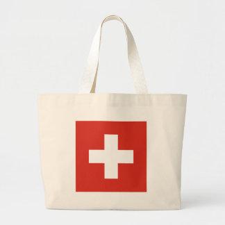 Vlag van de Matrijs Nationalflagge der Schweiz van Grote Draagtas