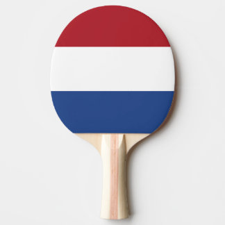 Vlag van de Nederlandse Vlag Amsterdam Holland van Tafeltennis Bat