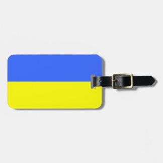 Vlag van de Oekraïne Bagagelabel