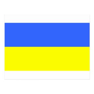 Vlag van de Oekraïne Briefkaart