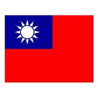 Vlag van de Republiek China (Taiwan) - 中華民國國旗 Briefkaart