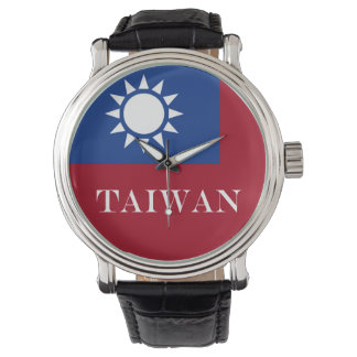 Vlag van de Republiek van Taiwan China Polshorloges