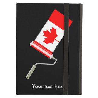 Vlag van de Rol van de Verf van Canada iPad Air Hoesje