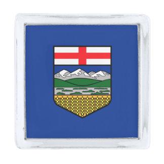 Vlag van de Speld van de Revers van Alberta Verzilverde Reverspeld