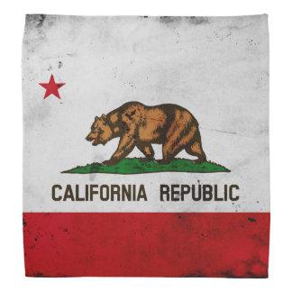 Vlag van de Staat van Californië van Grunge de Bandana