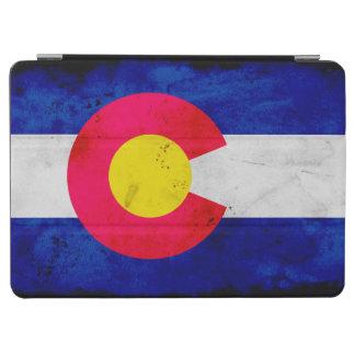 Vlag van de Staat van Colorado van Grunge de iPad Air Cover