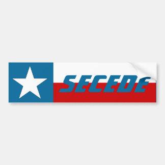 Vlag van de Staat zich van de Ster van Texas van d Bumpersticker