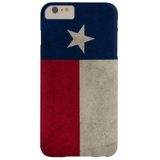 Vlag van de Ster van Texas Grunge- de Eenzame Barely There iPhone 6 Plus Hoesje