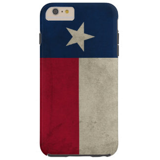 Vlag van de Ster van Texas Grunge- de Eenzame Tough iPhone 6 Plus Hoesje