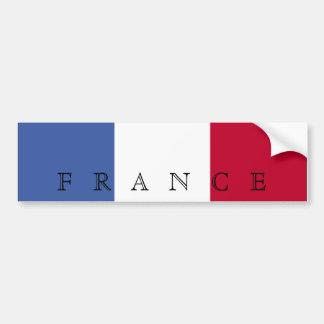 Vlag van de Sticker van de Bumper van Frankrijk