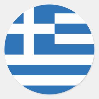 Vlag van de Sticker van Griekenland