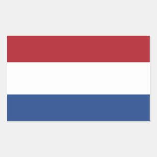 Vlag van de Sticker van Nederland