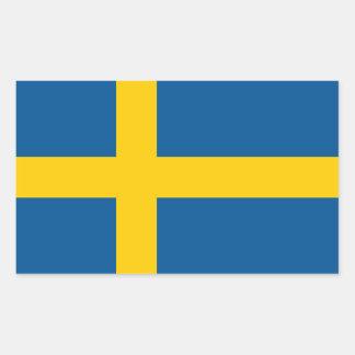 Vlag van de Sticker van Zweden