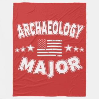 Vlag van de Universiteit van de archeologie de Fleece Deken