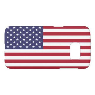 Vlag van de Verenigde Staten - de Amerikaanse Vlag Samsung Galaxy S7 Hoesje