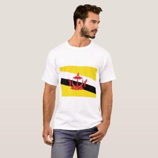 Vlag van de Wereld van Brunei de Nationale T Shirt