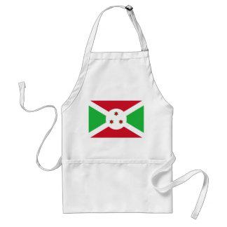 Vlag van de Wereld van Burundi de Nationale Standaard Schort