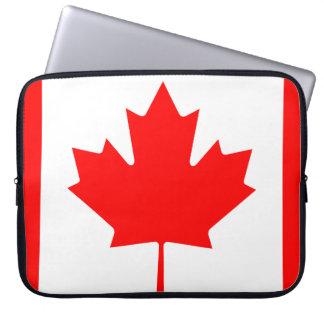 Vlag van de Wereld van Canada de Nationale Laptop Sleeve