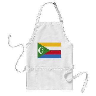 Vlag van de Wereld van de Comoren de Nationale Standaard Schort