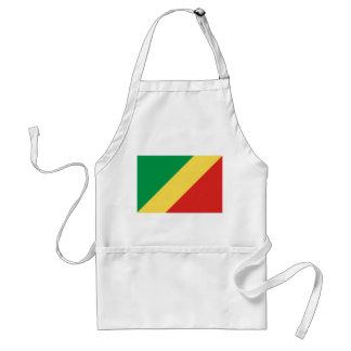 Vlag van de Wereld van de Kongo de Nationale Standaard Schort