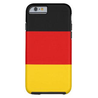 Vlag van de Wereld van Duitsland de Nationale Tough iPhone 6 Hoesje