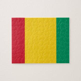 Vlag van de Wereld van Guinea de Nationale Puzzel