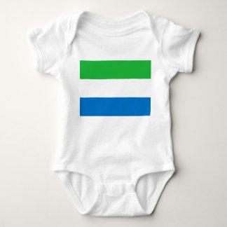 Vlag van de Wereld van het Sierra Leone de Romper