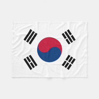 Vlag van de Wereld van Zuid-Korea de Nationale Fleece Deken